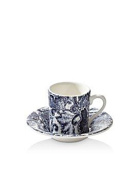 Ralph Lauren - Faded Peony Espresso Cup & Saucer Set