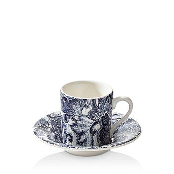 Ralph Lauren - Burleigh Faded Peony Espresso Cup & Saucer Set