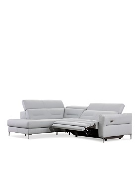 Nicoletti - Teseo 2-Piece Motion Sectional - 100% Exclusive