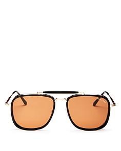 Tom Ford - Men's Huck Brow Bar Aviator Sunglasses, 61mm