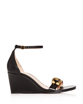 COACH - Women's Odetta Ankle-Strap Wedge Sandals