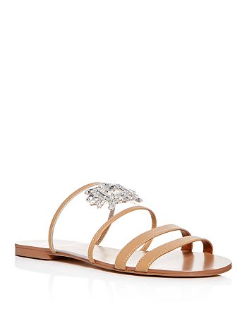 Kurt Geiger - Women's Pia Embellished Slide Sandals