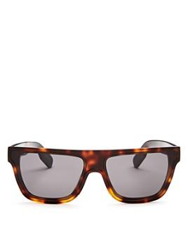 Kenzo - Women's Square Flat Top Sunglasses, 65mm