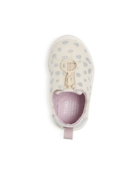 TOMS - Girls' Lenny Glitter Dot Low-Top Sneakers - Baby, Walker, Toddler