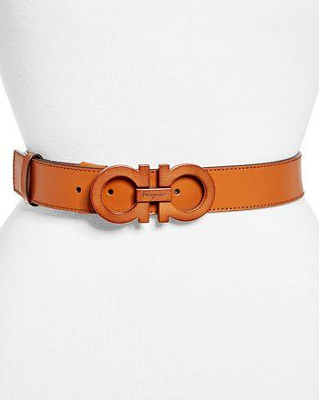 Salvatore Ferragamo - Women's Gancini Mediterranean Leather Belt