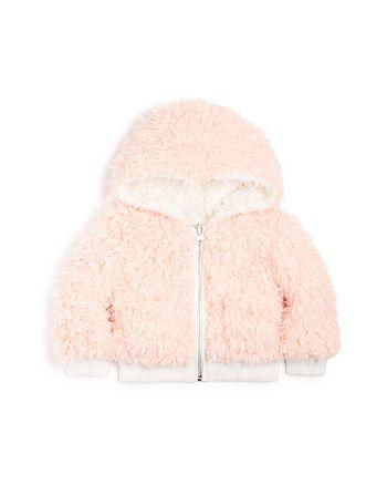 aaa098948 Bardot Junior Girls' Reversible Sherpa Jacket - Baby | Bloomingdale's