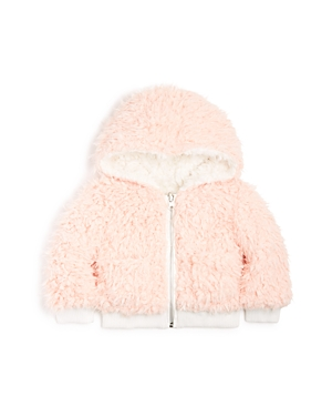 Bardot Junior Girls Reversible Sherpa Jacket  Baby