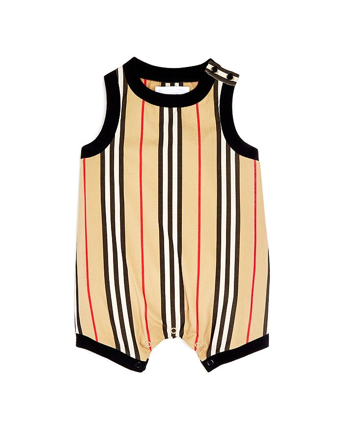 Burberry - Unisex Nettie Icon Stripe Romper - Baby
