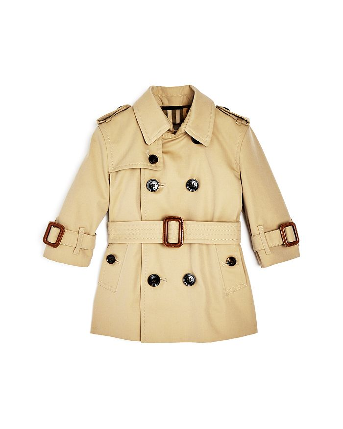 Burberry - Girls' Mayfair Trench Coat - Baby