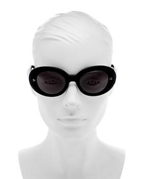 Oliver Peoples - Women's Erissa Polarized Round Sunglasses, 52mm