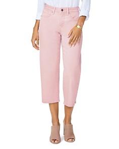 NYDJ - Wide Leg Capri Jeans in Pueblo Rose