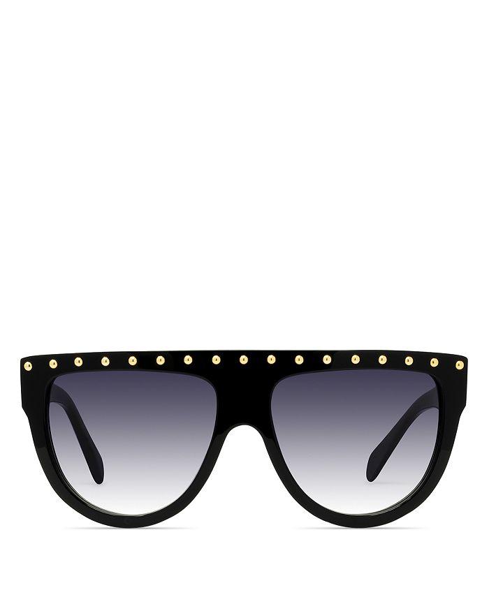 49e369822f CELINE Women s Embellished Flat Top Aviator Sunglasses