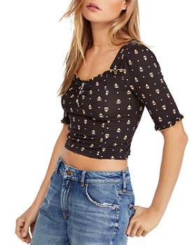 91bbdbe4ae9 Free People - Bosanova Cropped Top ...