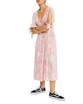 Free People - Forever Always Floral Midi Dress