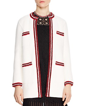 Sandro - Luce Open-Front Cardigan