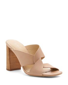 f7dbf1d2293 Botkier - Women s Raven Leather Slide Sandals ...