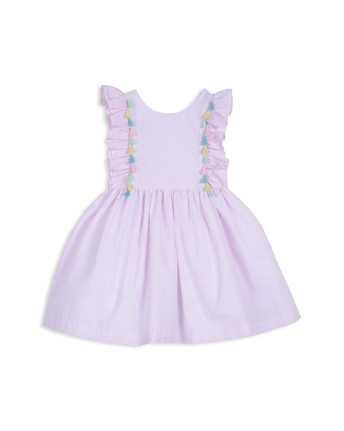 Pippa & Julie - Girls' Ruffle Tassel Dress - Little Kid