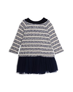 Pippa & Julie - Girls' Layered-Look Sweater & Tutu Dress - Little Kid