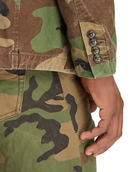 Polo Ralph Lauren - Camouflage-Print Canvas Classic Fit Sport Coat