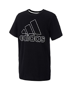 Adidas - Boys' Performance Logo Tee - Little Kid