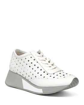 Donald Pliner - Women's Prit Embossed Leather Platform Sneakers