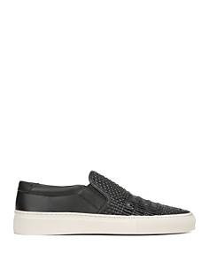 Via Spiga - Women's Sara Woven Leather Slip-On Sneakers