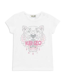 Kenzo - Girls' Signature Tiger & Logo Tee - Baby