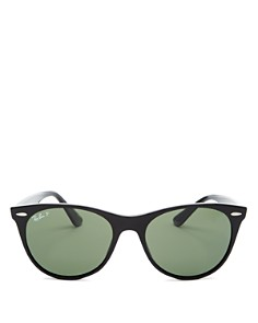 Ray-Ban - Women's Polarized Round Sunglasses, 55mm
