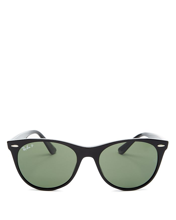 Ray Ban Sunglasses RAY-BAN WOMEN'S POLARIZED ROUND SUNGLASSES, 55MM