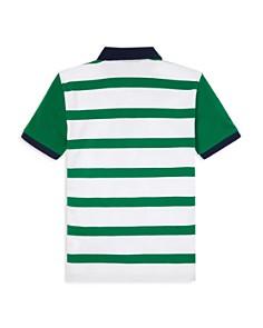 Ralph Lauren - Boys' Striped Mesh Polo Shirt - Big Kid
