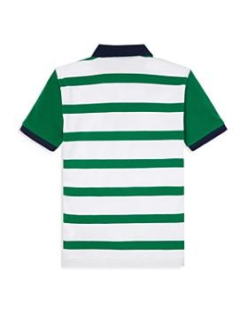 27ecb407d833 ... Ralph Lauren - Boys  Striped Mesh Polo Shirt - Big Kid