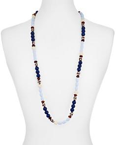 """AQUA - Multicolor Beaded Necklace, 36"""" - 100% Exclusive"""