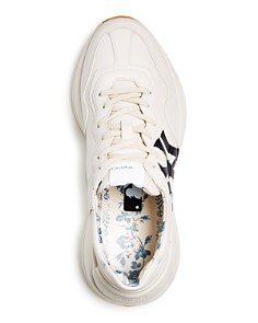 Gucci - Rhyton Leather Low-Top Sneakers