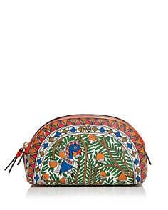 Tory Burch - Robinson Small Printed Cosmetic Case
