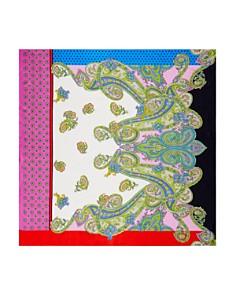 Larioseta - Mixed-Print Silk Scarf