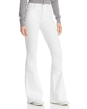 Hudson - Holly Flare Jeans in White