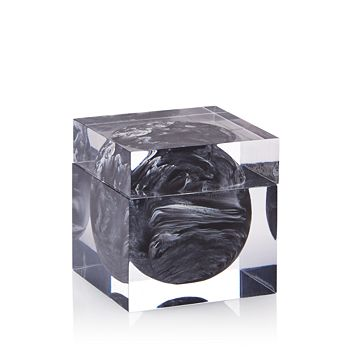 Kassatex - Ducale Black Cotton Jar - 100% Exclusive