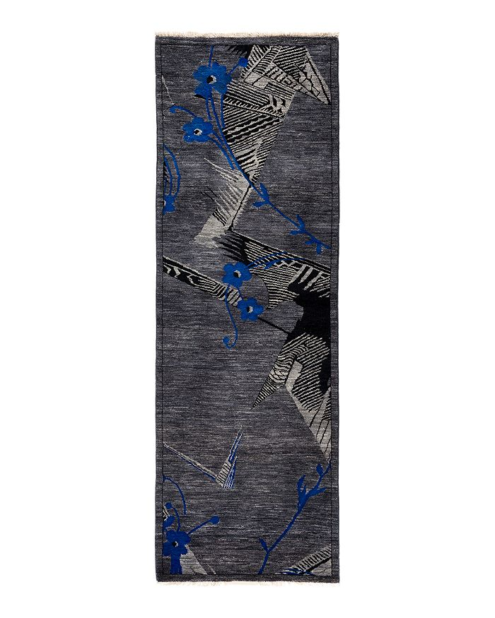 """Solo Rugs - Khaos Eclectic Runner Rug, 2'8"""" x 8'2"""""""