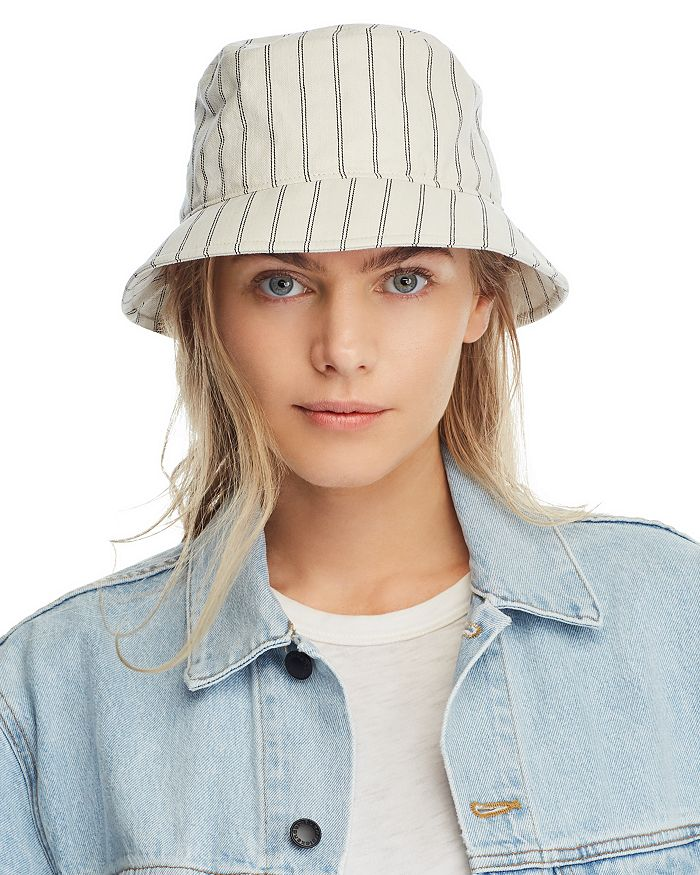 e13204f686e3d rag   bone - Ellis Striped Bucket Hat