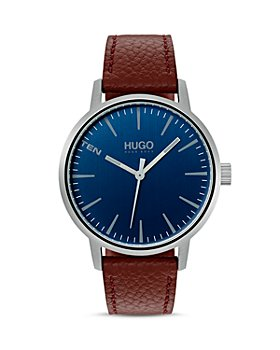 HUGO - #STAND Blue Dial Watch, 40mm
