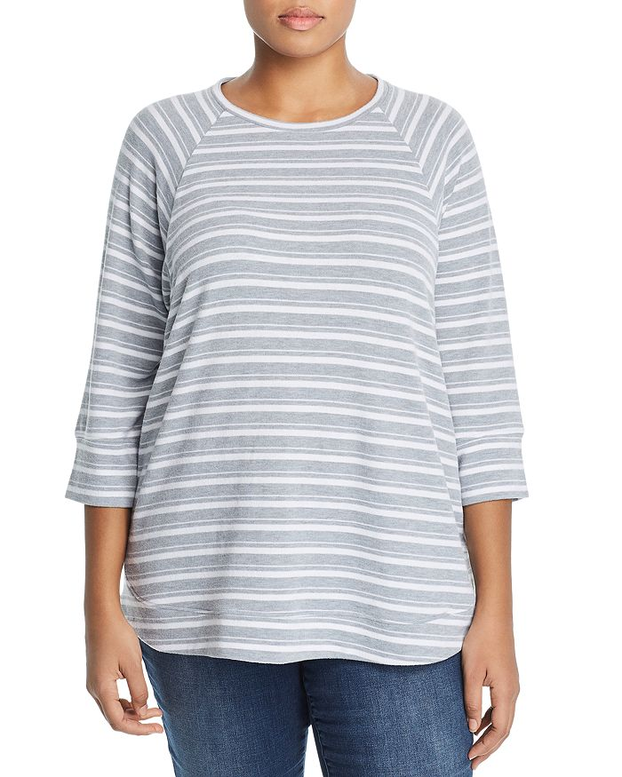 Marc New York Plus - Striped High/Low Top