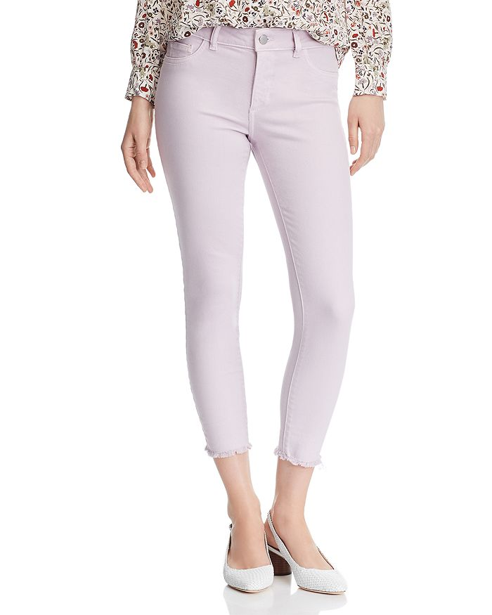 DL1961 - Florence Crop Skinny Jeans in Orchid