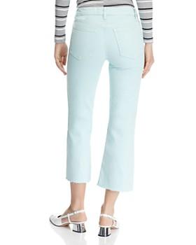 Joe's Jeans - Wyatt Crop Flare Jeans in Spring Mint