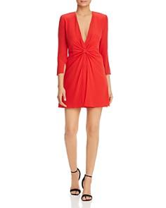 Emporio Armani - Cinched-Front Dress