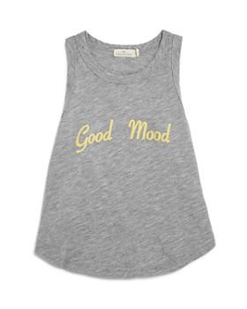 COMUNE - Girls' Diworth Good Mood Racerback Tank - Big Kid