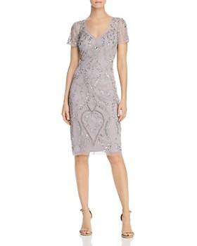 cd42f9c7f5d95 Adrianna Papell - Embellished Sheath Dress ...