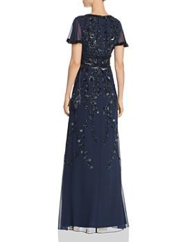 ca4db36b4b46 ... Aidan Mattox - Embellished Flutter-Sleeve Gown. Quick View