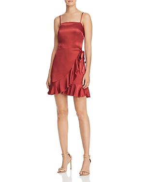 Donna Mizani ANTONIA FLOUNCED MINI DRESS