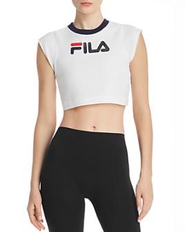 FILA - Pia Logo Cropped Tee