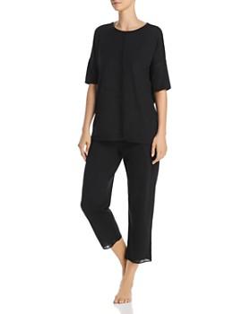 Naked - Short Sleeve Pajama Set